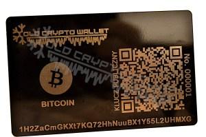 Portfel Bitcoin Polski - przód