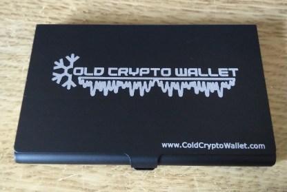 Etui Aluminiowe ColdCryptoWallet