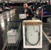 Vincent and our #livelagom Ikea haul