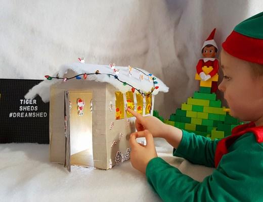 Christmas playhouse