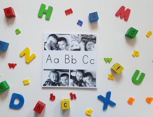 Alphabet Memory Book