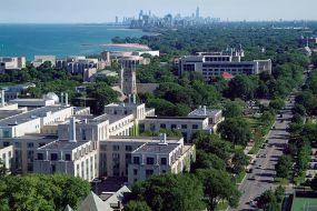 Evanston, Illinois - Lake Michigan / Chicago in the distance