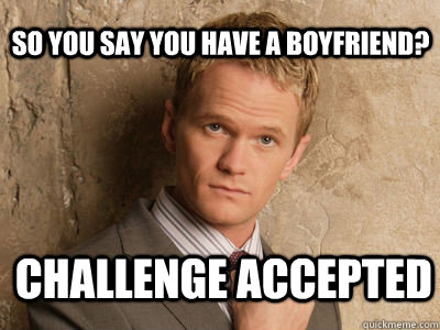 how to text a girl who has a boyfriend? challenge accepted