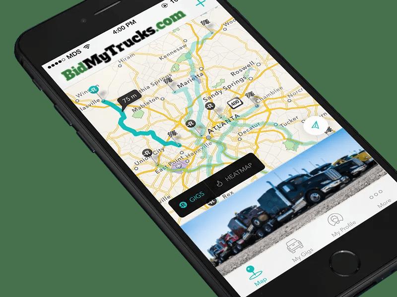 Coldiron Companies Solutions:  BidMyTrucks.com Mobile App