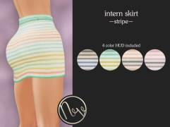 Neve Skirt - Intern - Stripe