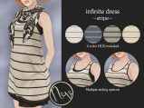 Neve Dress - Infinite - Stripe