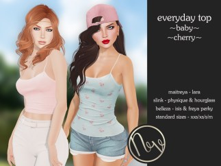 Neve Top - Everyday - Baby + Cherry