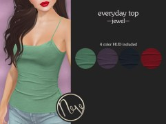 Neve Top - Everyday - Jewel