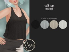 Neve Top - Cali - Neutral