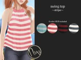 Neve Top - Swing - Stripe