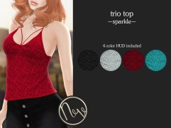 Neve Top - Trio - Sparkle