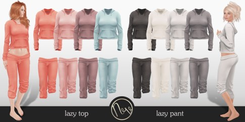 Neve - Relax Top + Pants - Lively + Neutral