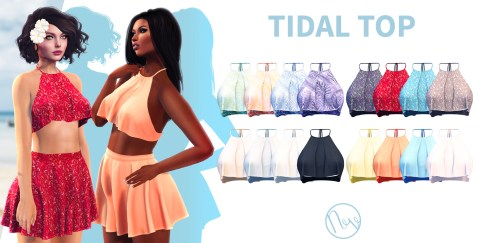 Neve - TIdal Top - All Colours