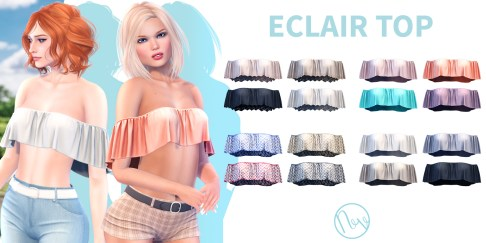 Neve - Eclair Top - All Colours