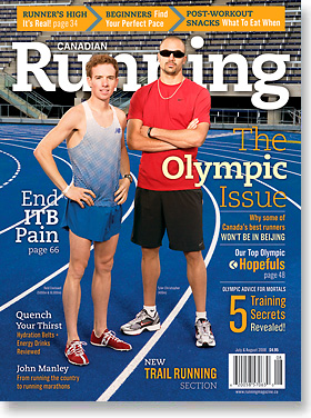 Canadian Running Cover