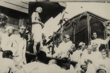 M.K. Gandhi, Third Class in Indian Railways, Swadeshi, Boycott, Congress, Civil Disobedience, Dandi March, Quit India