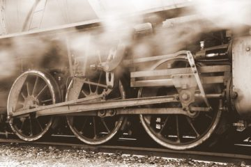 In the Permanent Way, Flora Annie Steel (Railway Engine, Indian railways, Steam Engine)