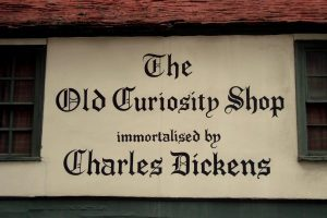 The Old Curiosity Shop, Charles Dickens, Potsmouth Street, London