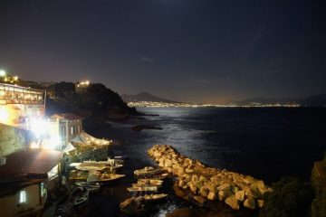 Posillipo, Naples, Night