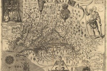 John Smith_Virginia_map_1606