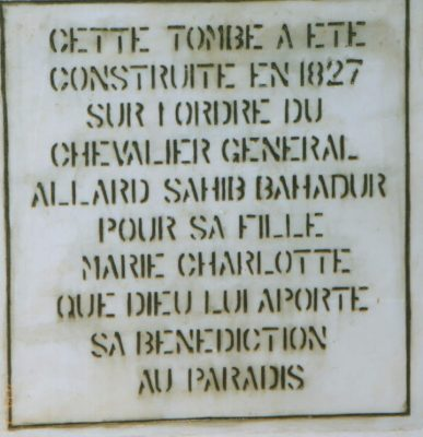 The-epitaph-at-general-allards-and-mary-allards-tomb