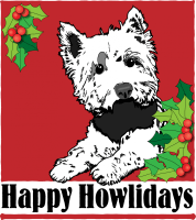 Scottie Holiday Dog