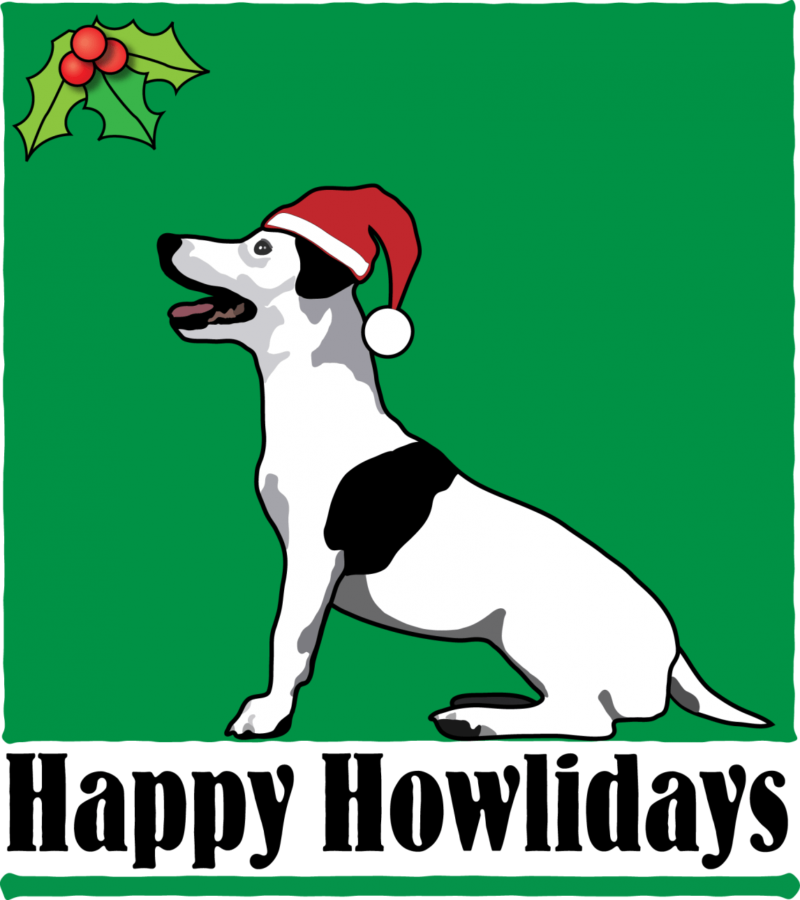 Terrier Holiday Dog