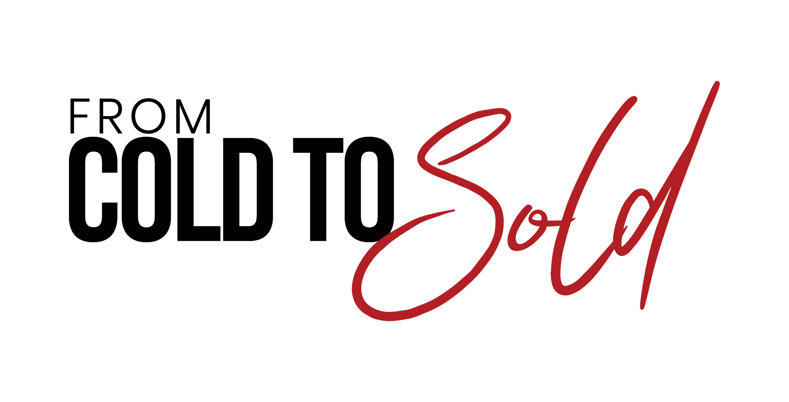 From Cold To Sold Logo