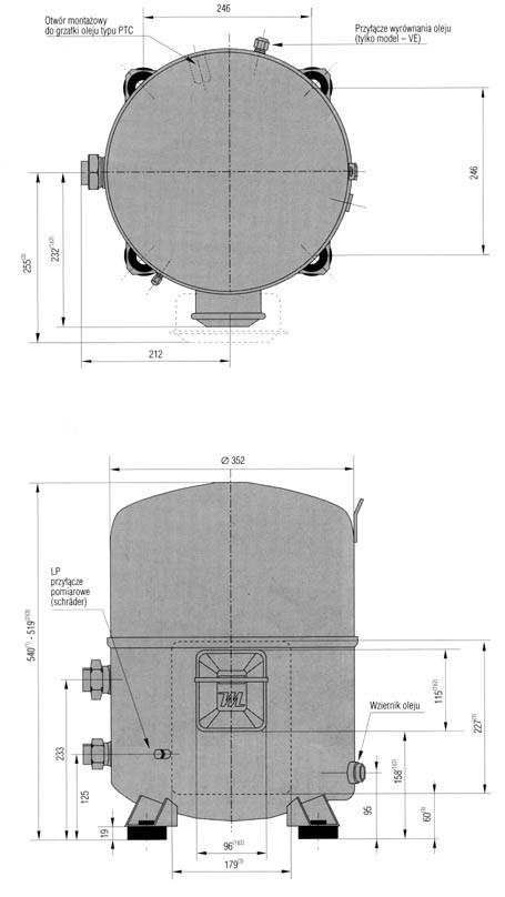 mt100 1 - Компрессор Danfoss MTZ125