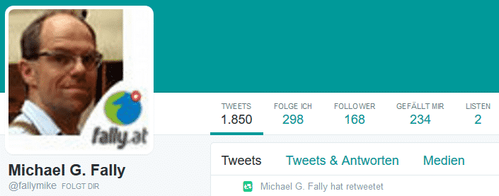 Michael Fally Twitter