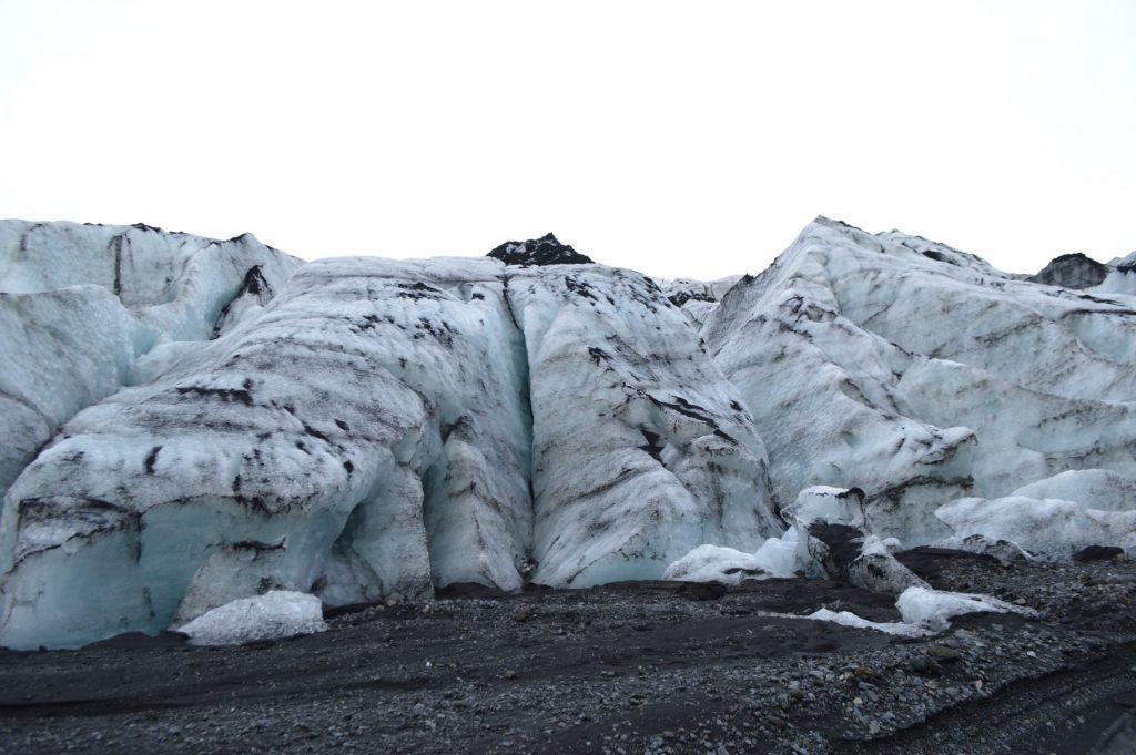 Mouth of Mýrdalsjökull Glacier