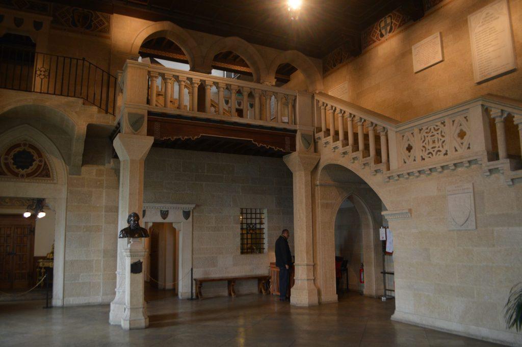 Interior del Palazzo Pubblico