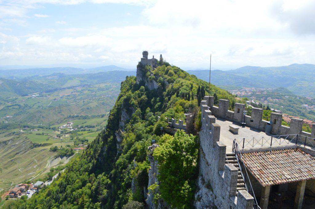 Vista de Fratta desde Guaita