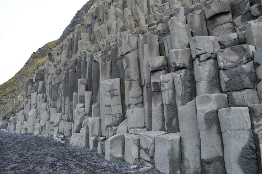 Hálsanef basalt columns