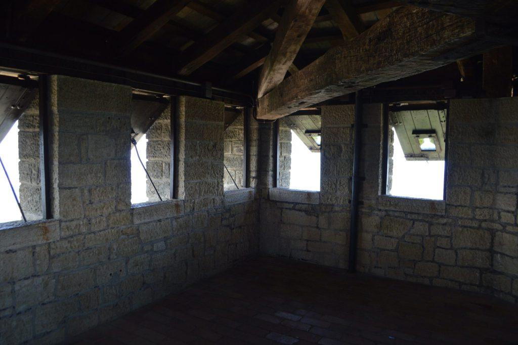 Dentro de la torre de Guaita