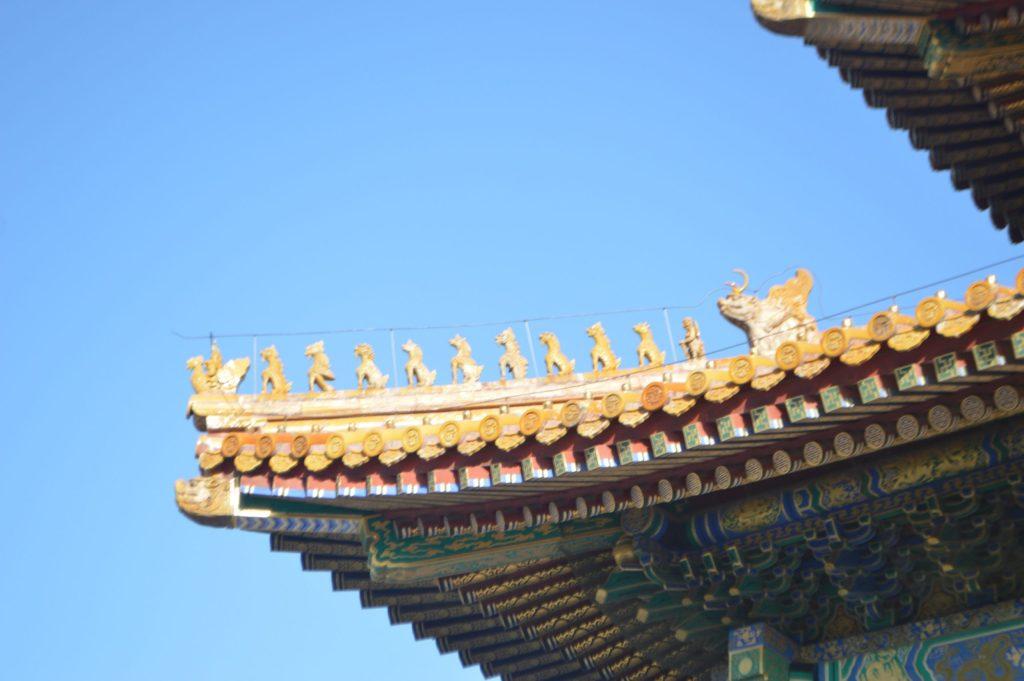 Guardianes del tejado del Salón de la Suprema Armonía