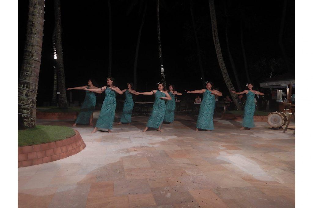 Baile tradicional micronesio