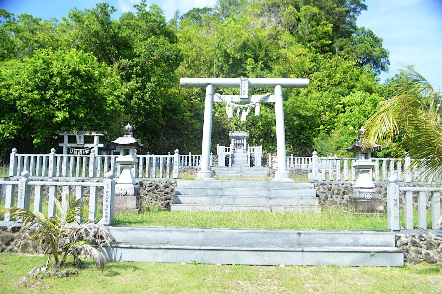 Santuario Shinto de Peleliu