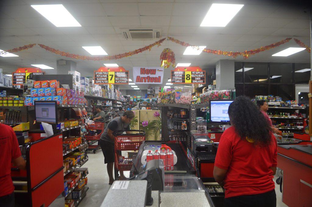 Supermercado en Palaos