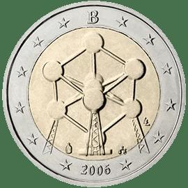 Moneda Conmemorativa de 2 Euros de Bélgica 2006 - Atomium