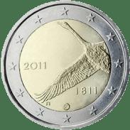 Moneda Conmemorativa de 2 Euros de Finlandia 2011 - Bicentenario del Banco de Finlandia