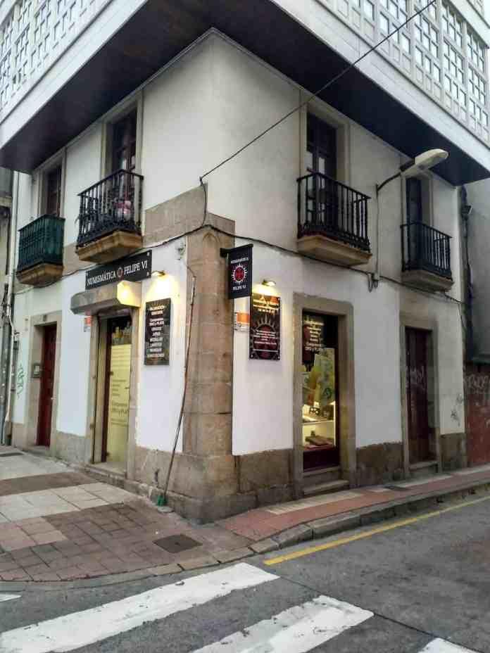 Numismática Felipe VI en A Coruña