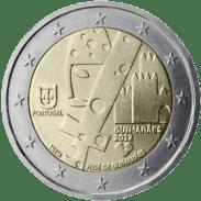 Moneda Conmemorativa de 2 Euros de Portugal 2012 - Guimaraes, Capital Europa de la Cultura