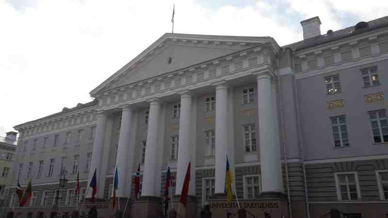 Edificio Principal de la Universidad de Tartu