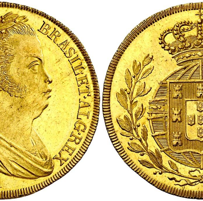 Gráfila en 4 escudos - Portugal - 1821 - Juan IV