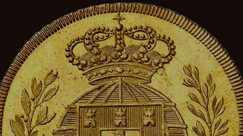 Gráfila de una moneda