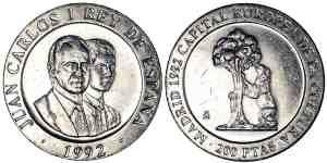 200 Pesetas 1992