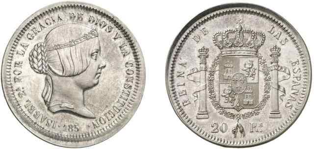 20 Reales Prueba 185X Fernández Pescador
