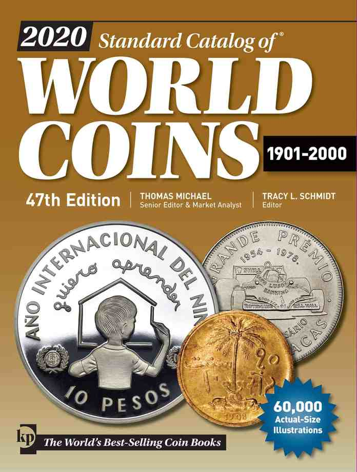 Standard Catalog of World Coins 2020, 1901-2000