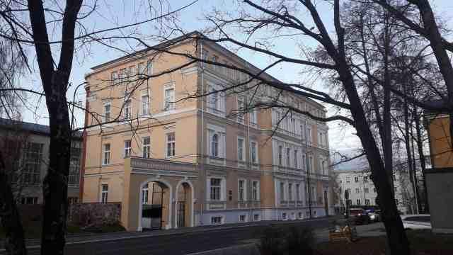 Edificio donde se firmó el Tratado de Paz de Tartu